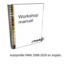 Manuel d'atelier, tracteur PARK 2008-2020 - Anglais