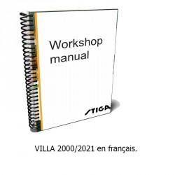 VILLA 2000-2021 - Manuel d'atelier- Français