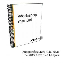 SD 98-108-2098 - 2018-2020 Manuel d'atelier en français