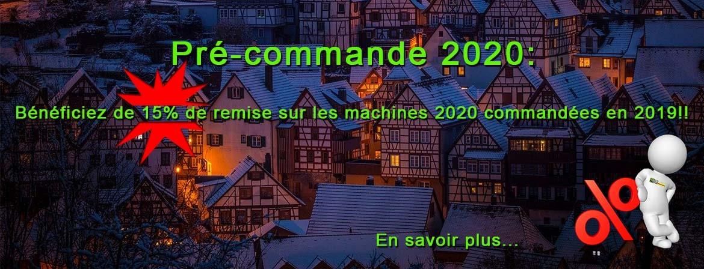Pré-commande 2020