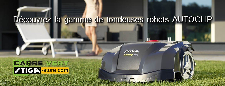 Tondeuses robots STIGA Autoclip
